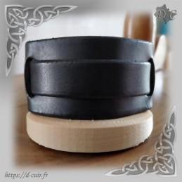 Bracelet cuir 1 lanière