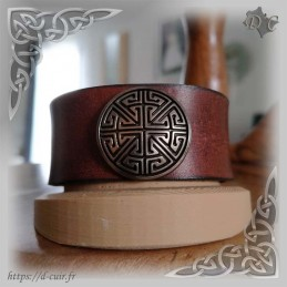 Bracelet cuir Celtik
