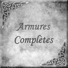 Armures complètes